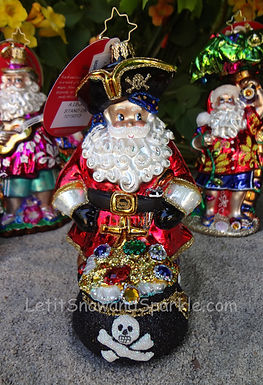 Christopher Radko A Leg To Stand On Santa 1019313