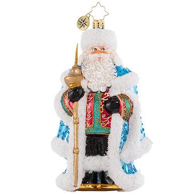 Christopher Radko Spiffy For The Soirée Santa 1020616 Christmas Ornament