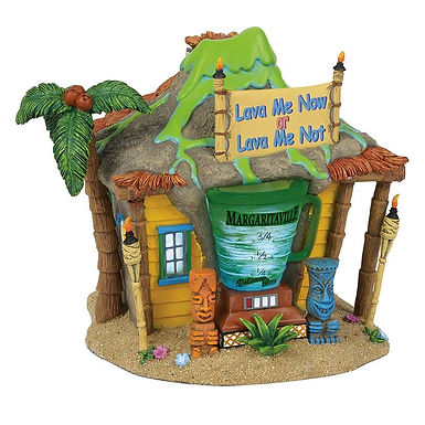 Margaritaville Village Volcano Club 6001209 Department 56 New 2018