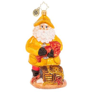 Christopher Radko Santa's Claws 1020574 Christmas Ornament