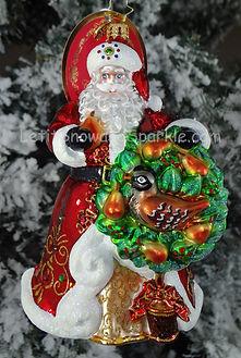 Christopher Radko 2018 Ornament Santa Ornament