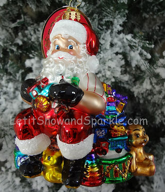Christopher Radko Elves Day Off Santa 1019257