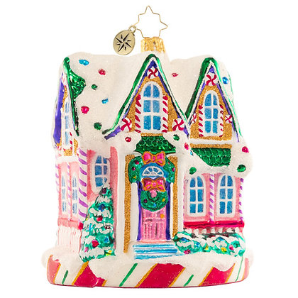 Christopher Radko Marvelous In Mint House 1020853 Christmas Ornament