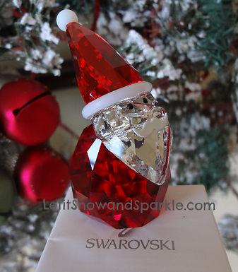 SWAROVSKI SANTA CLAUS CHRISTMAS FIGURINE