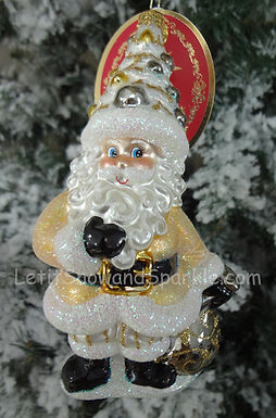Christopher Radko Headful of Spirit Santa Designer for a Day 1019582