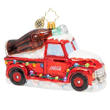 Christopher Radko A Coca-Cola Celebration Truck 1020502