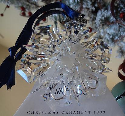 1999 Swarovski Annual Edition Christmas Ornament
