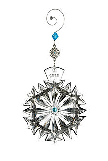 Waterford 2018 Ornament Annual Snowflake Wishes