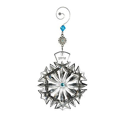 Waterford 2018 Happiness Snowflake Wishes Annual Ornament 154698