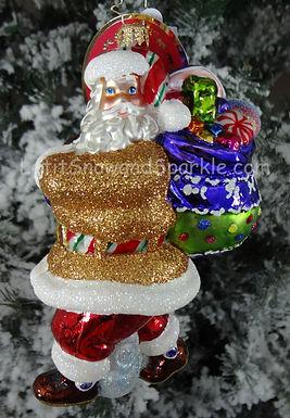 Christopher Radko Candy Mountain March Santa 1019500