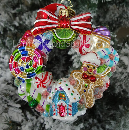Christopher Radko Sweetest Swirl Wreath 1019000