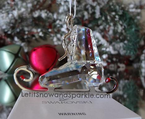 SWAROVSKI WINTER SKATE CHRISTMAS ORNAMENT