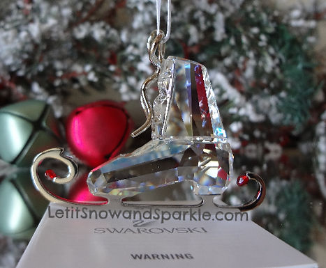 SWAROVSKI WINTER SKATE CHRISTMAS ORNAMENT