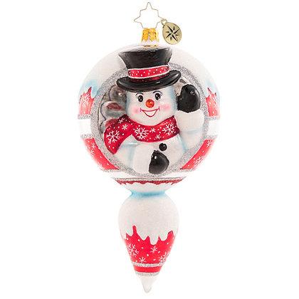 Christopher Radko A Frosty Hello Snowman 1020759