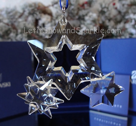 Swarovski Twinkling Stars 863438 Christmas Ornament 2006 - 2007 retired