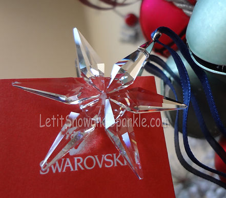 2003 Swarovski Annual Little Christmas Ornament