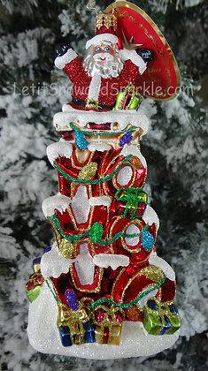 Christopher Radko Ho Ho Ho Santa 1018901
