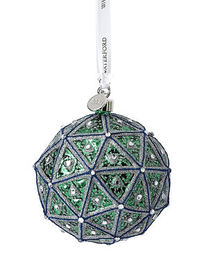 Waterford 2021 Happiness Times Square Replica Ball 1055464 Christmas Ornament