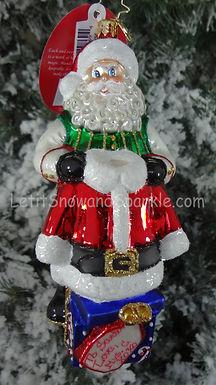 Christopher Radko Christmas Cloak Santa 1019624