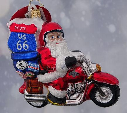 Christopher Radko Motorcycle Nick! 1019688