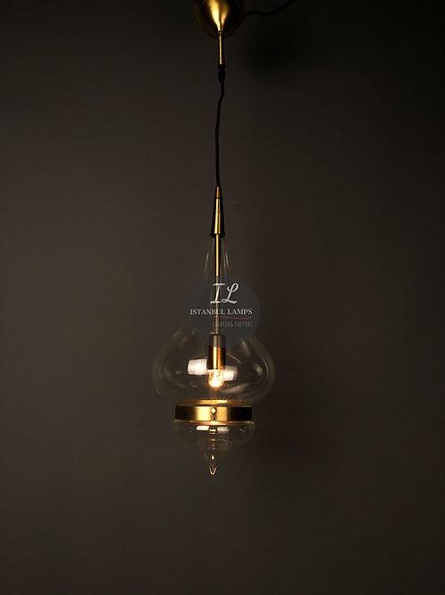 Modern Brass Ottoman LED Pendant