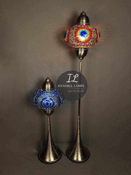 Modern Mosaic Turkish Floor Lamps Special Offer