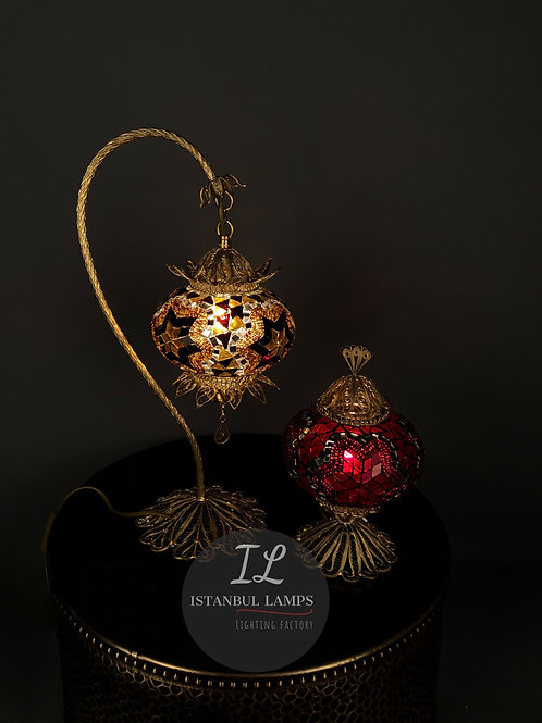 Turkish Filigree Mosaic Table Lamps Special Offer