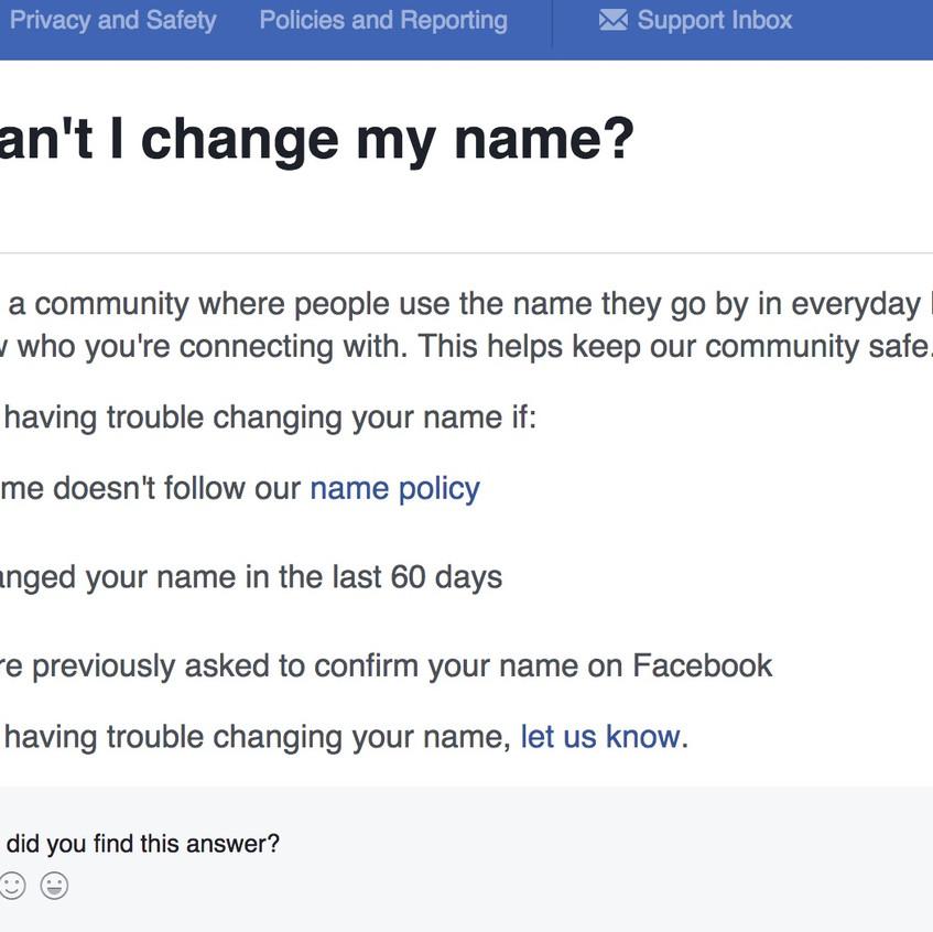 name change admin