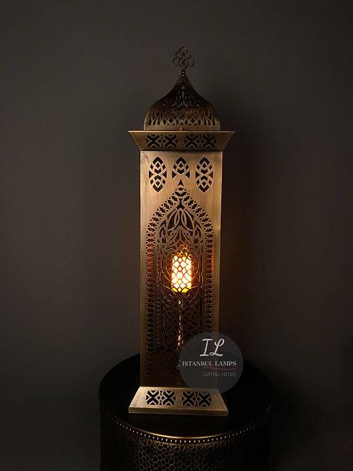 Bronze Middle Eastern Floor Lamp