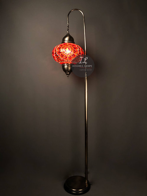Contemporary Mosaic Turkish Floor Lamp Oriental Hanging