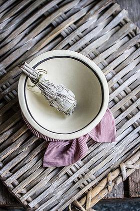 Ceramic Aztec Smudge bowl
