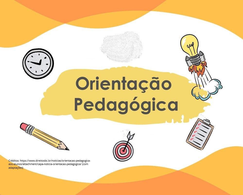 Orientação pedagógica para docentes