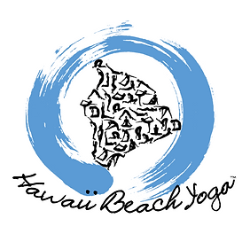 Hawaii Beach Yoga official logo Big Island of Yogi's