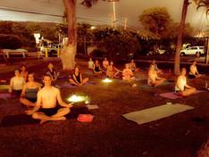 Glowing Winter Meditation