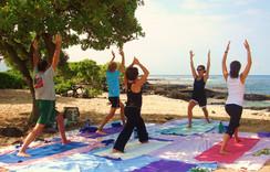 Old Airport Beach Park Yoga