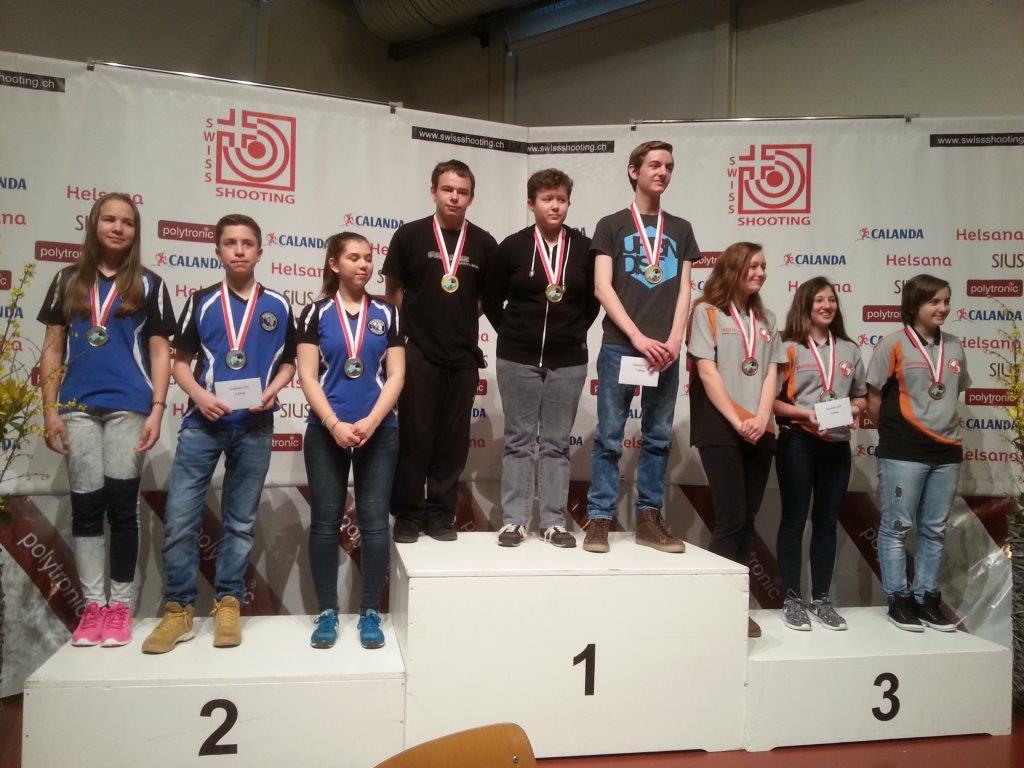 Schweizermeister Gruppe U17 2016
