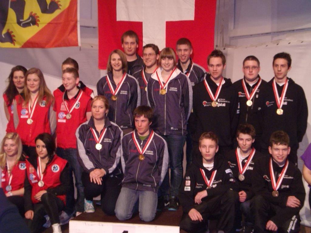 Mannschafts Schweizermeister 2012