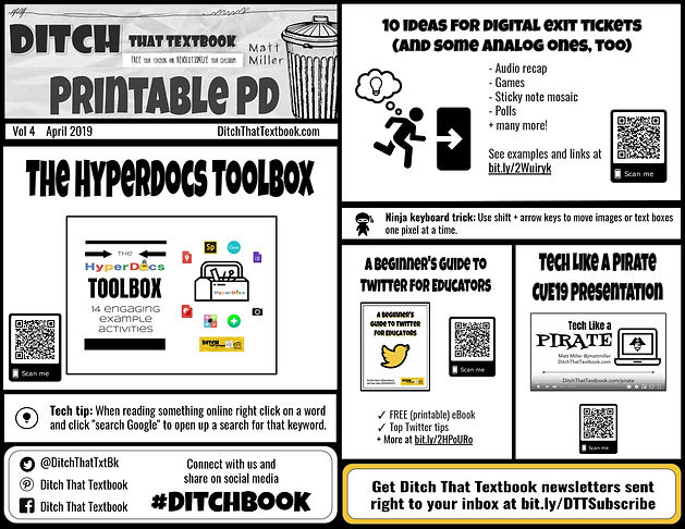Ditch That Textbook Printable PD Vol 4-p