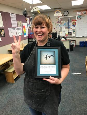 Art Teacher Karen Ferguson