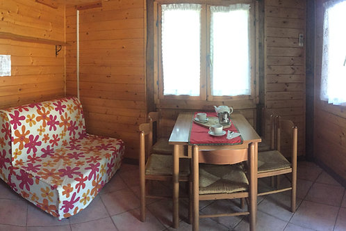 CHALET - max 6 persone