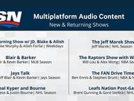 Sportsnet Unveils New Multiplatform Audio Content, Launching Oct. 4