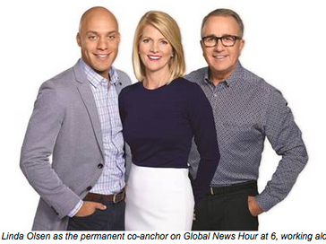 Global Calgary Announces Linda Olsen, Joel Senick and Paul Dunphy as Official News Team for Global N
