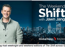 THE SHIFT WITH SHANE HEWITT LAUNCHES ON GLOBAL NEWS RADIO NETWORK SUNDAY