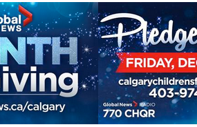 GLOBAL CALGARY / 770 CHQR SEEK AUDIENCE SUPPORT DURING ANNUAL HOLIDAY CAMPAIGNS