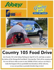 3 Days In A Tent For Food Bank