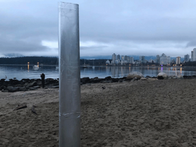 Mysterious Kitsilano Beach Monolith Source... It's JACK