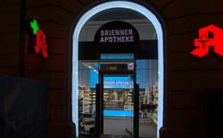LED Beleuchtung Brienner Apotheke - Kopie