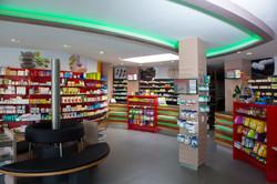 LED Shopbeleuchtung Offizin Elisen Apotheke