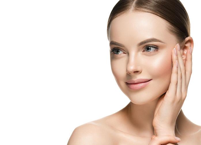 Healthy skin woman beauty female cosmeti