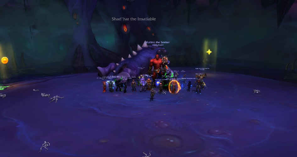 Mythic Shadhar Kill